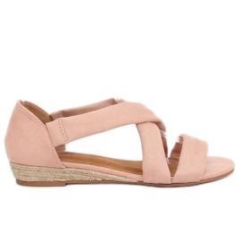 Sandalen Espadrilles Pink 9R72 Pink