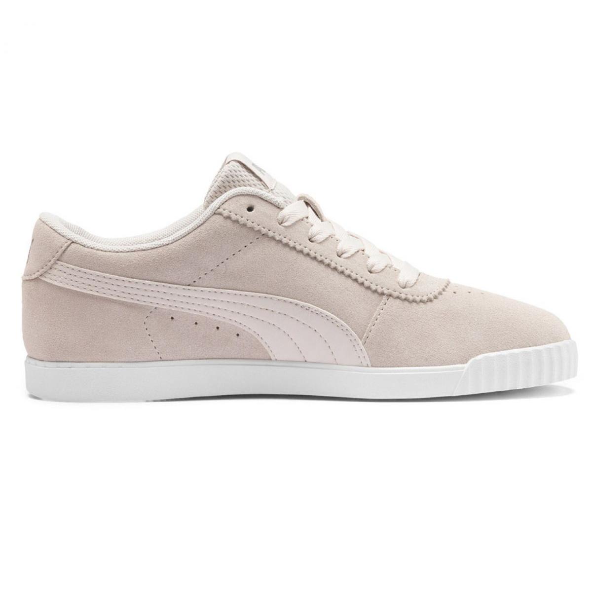 Braun Schuhe Puma Carina Slim Sd W 370549 02 beige