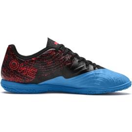 Fußballschuhe Puma One 19.4 It M 105496 01 schwarz und blau