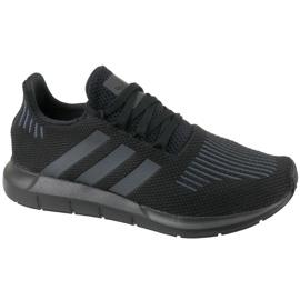Schwarz Adidas Swift Run Jr CM7919 Schuhe