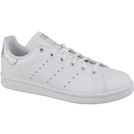 Weiß Adidas Stan Smith Jr EE8483 Schuhe
