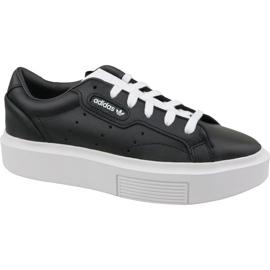 Schwarz Adidas Sleek Super W EE4519 Schuhe