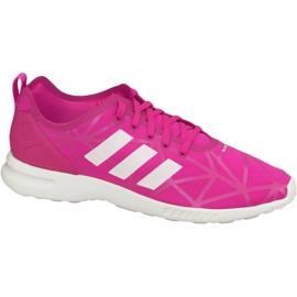 Pink Adidas Zx Flux Adv Smooth W Schuhe S79502