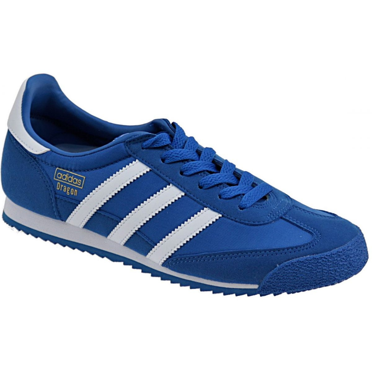 Blau Adidas Dragon Og Jr BB2486 Schuhe