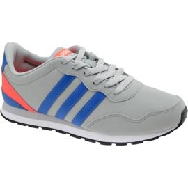 Grau Adidas V Jog K Jr AW4147 Schuhe