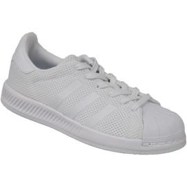 Weiß Adidas Superstar Bounce Schuhe BY BY1589