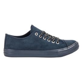 McKey marine Bequeme Navy Sneakers