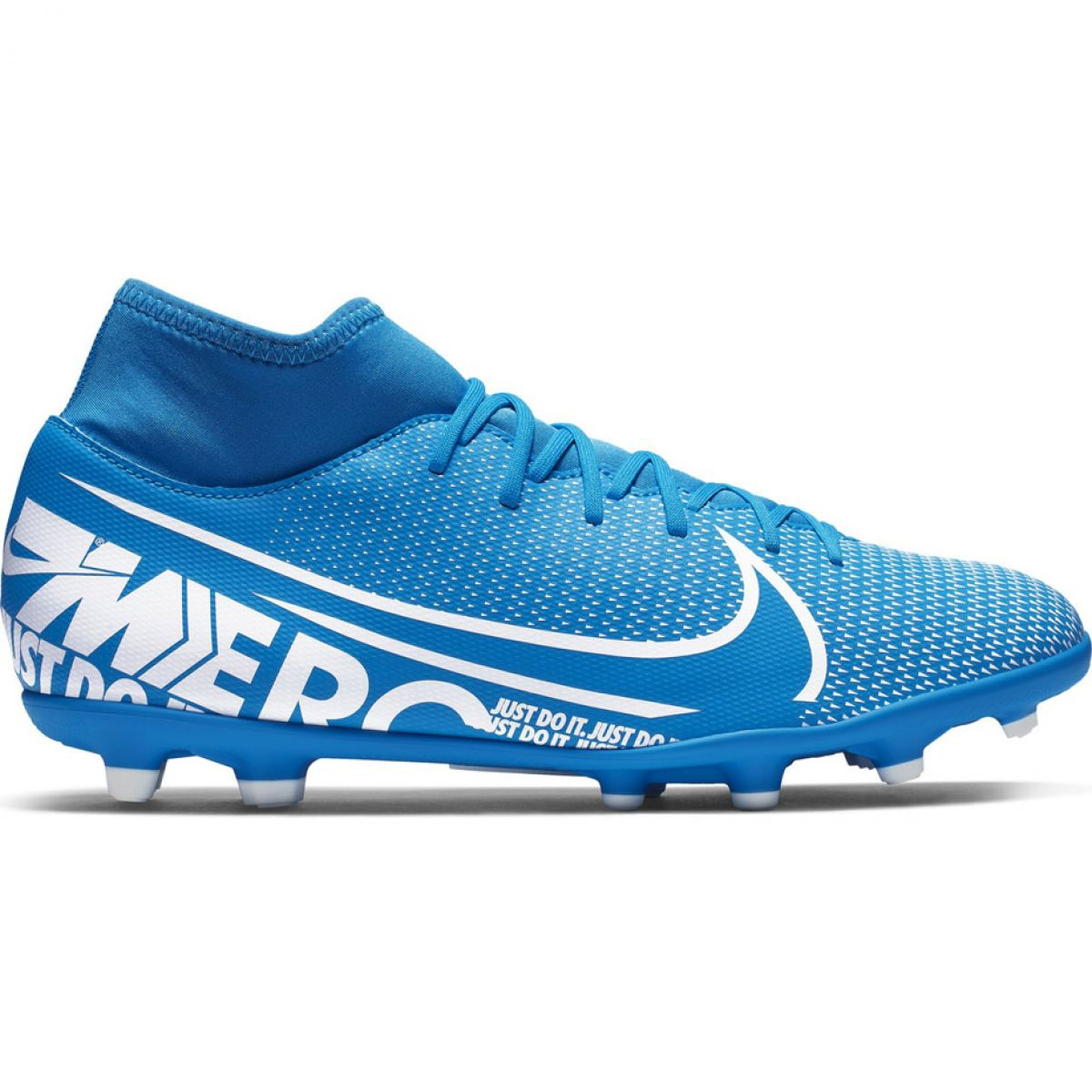 Fussballschuhe Nike Mercurial Superfly 7 Club Fg Mg M At7949 414 Blau Blau