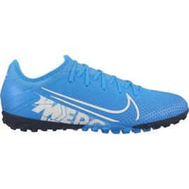 Fußballschuhe Nike Mercurial Vapor 13 Pro Tf M AT8004 414 blau