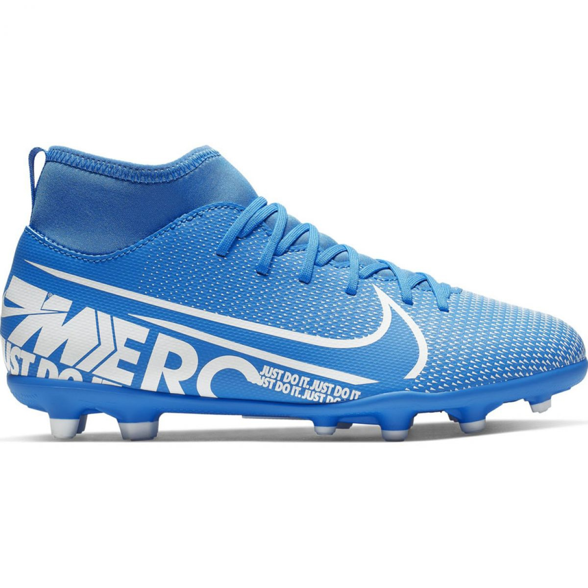Fussballschuhe Nike Mercurial Superfly 7 Club Fg Mg Jr At8150 414 Blau Blau