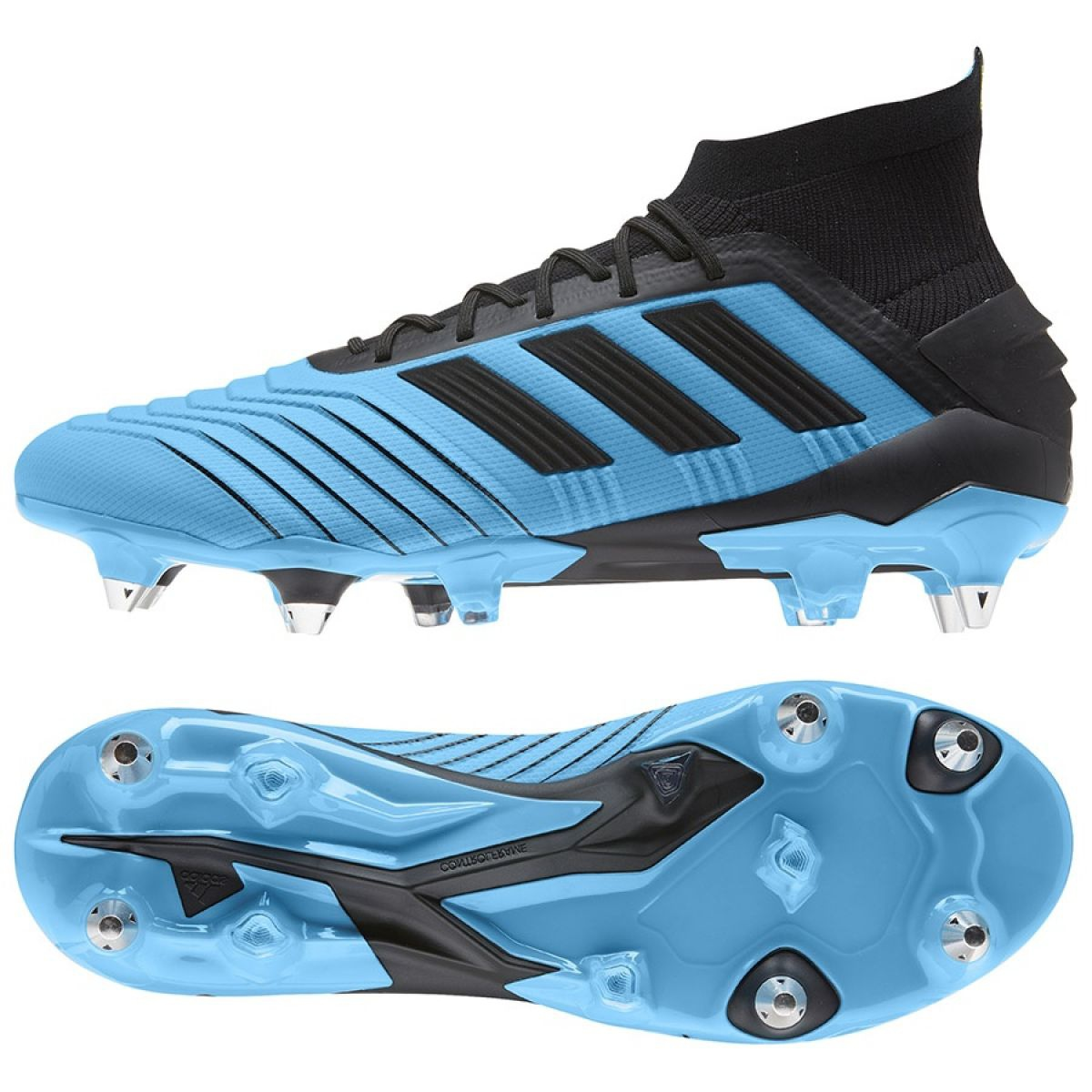 Fussballschuhe Adidas Predator 19 1 Sg M F99988 Blau Blau