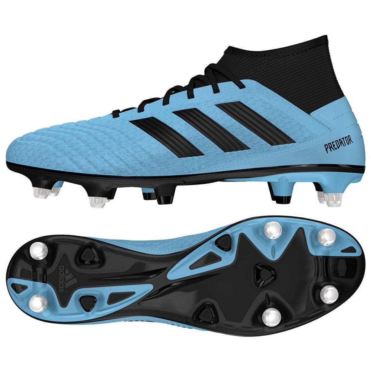 Fussballschuhe Adidas Predator 19 3 Sg M Ef8033 Blau Blau