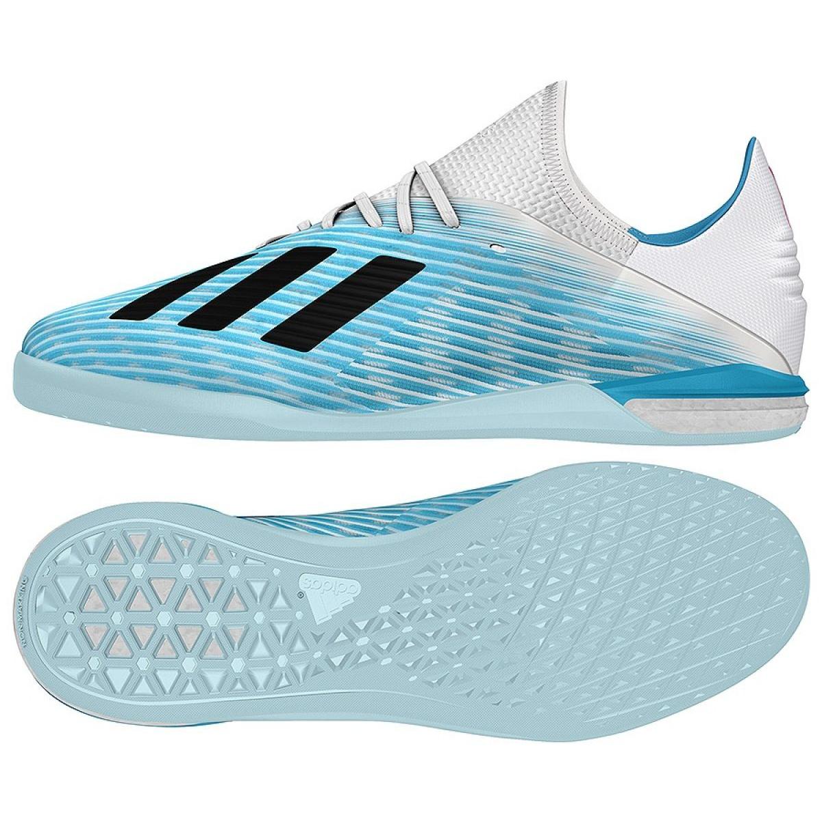 pick up on feet at sale Hallenschuhe adidas X 19.1 In M G25754 blau blau