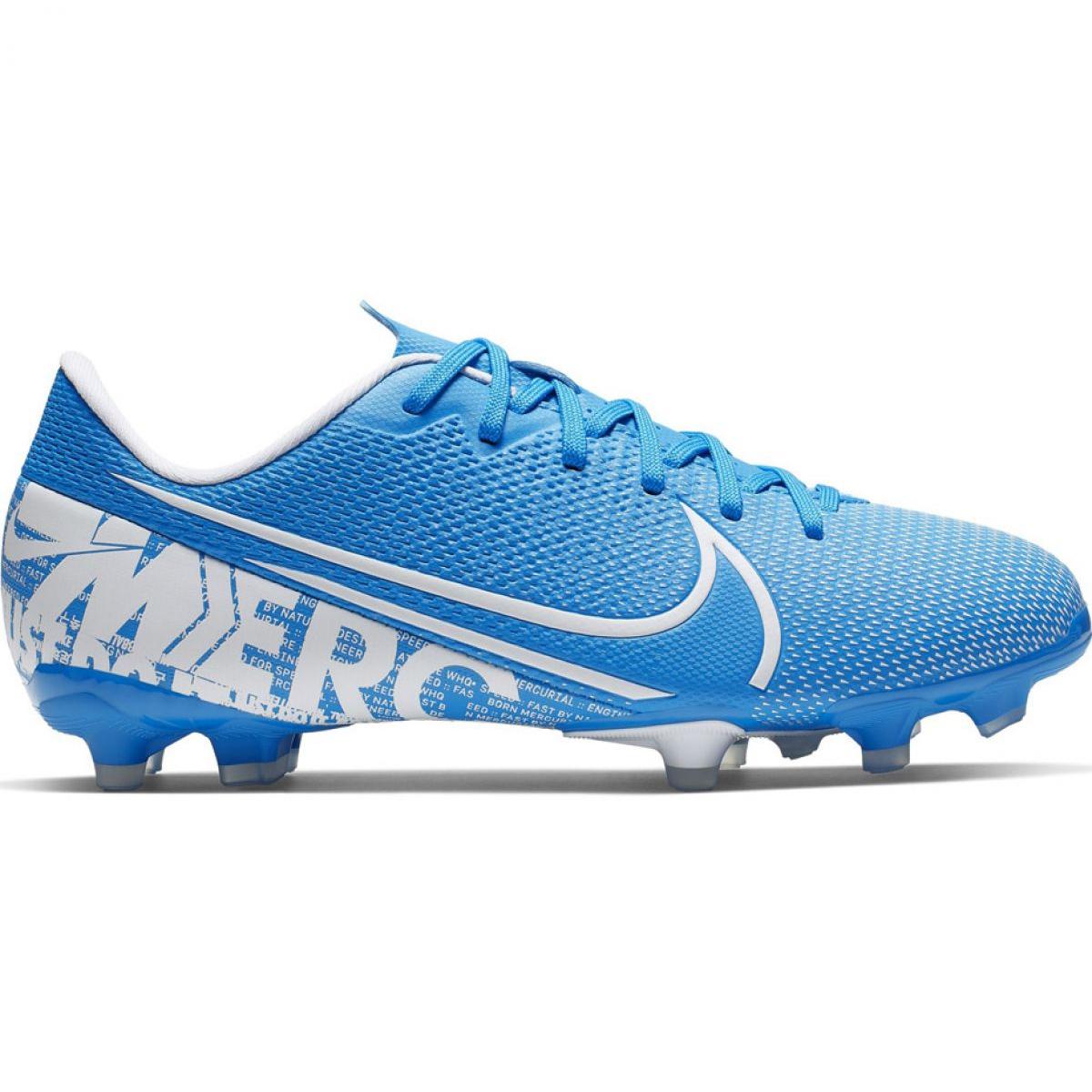 Qualität und Quantität zugesichert Genieße den niedrigsten Preis 2020 Fußballschuhe Nike Mercurial Vapor 13 Akademie FG / MG Jr AT8123 414 blau