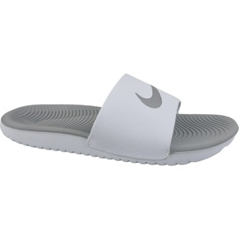 Hausschuhe Nike Kawa Slide 834588-100 weiß