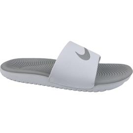 Weiß Hausschuhe Nike Kawa Slide 834588-100
