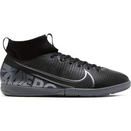 Fußballschuhe Nike Mercurial Superfly 7 Akademie Ic Jr AT8135 001 schwarz