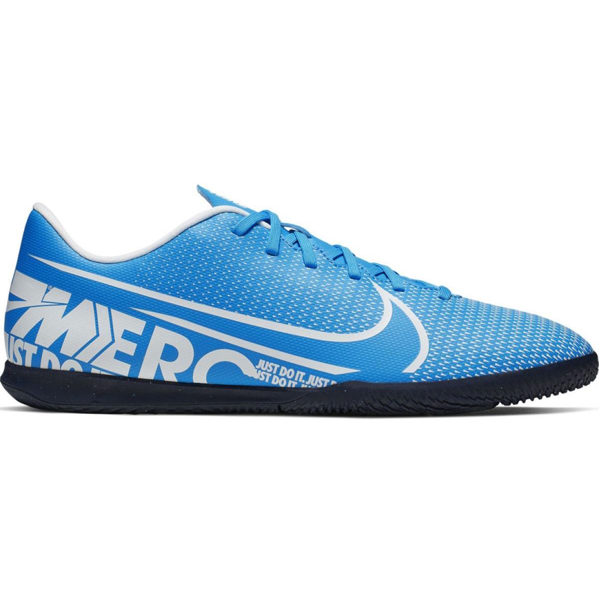 bester Verkauf bestbewertet bester Ort für Fußballschuhe Nike Mercurial Vapor 13 Club Ic M AT7997 414 blau