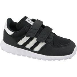 Schwarz Schuhe von Adidas Originals Forest Grove Cf Jr B37749