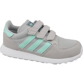 Grau Schuhe von Adidas Originals Forest Grove Cf Jr CG6709
