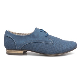 Blaue Schuhe Simone Jazzówki