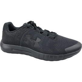 Schwarz Under Armour Micro G Pursuit M 3021953-002 Laufschuhe