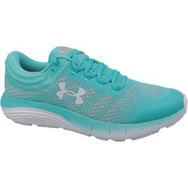 Blau Under Armour Charged Bandit 5 W Laufschuhe 3021964-301