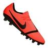 Nike Phantom Vnm Pro AG-Pro M AO0574-600 Fußballschuhe orange orange