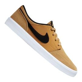 Braun Nike SB Solarsoft Portmore Ii M 880266-700 Schuhe