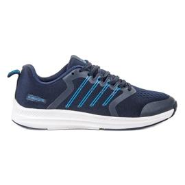 Ax Boxing blau Leichte Sportschuhe