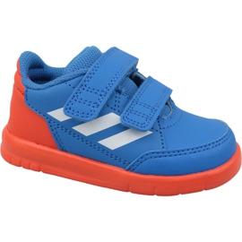 Blau Adidas AltaSport Cf I D96842 Schuhe