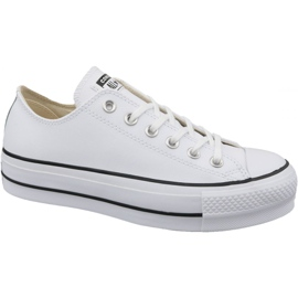 Weiß Converse Chuck Taylor All Star Lifter Clean Ox W 561680C