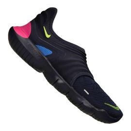 Marine Nike Free Rn Flyknit 3.0 M AQ5707-400 Schuhe