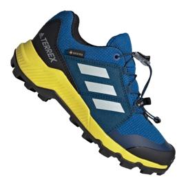 Blau Adidas Terrex Gtx Jr BC0599 Schuhe