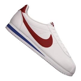 Weiß Nike Classic Cortez Leather M 749571-154 Schuhe