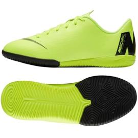 Nike Mercurial VaporX 12 Akademie Gs Ic Jr AJ3101 701 grüne Schuhe