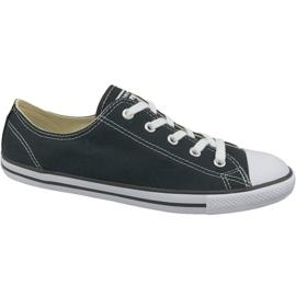 Converse Ct All Star zierliche Ox W 530054C schwarz