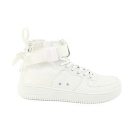 Big Star Sneakers Schnürung 274648 weiß