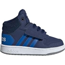 Marine Adidas Hoops Mid 2.0 EE6714 Kinderschuhe