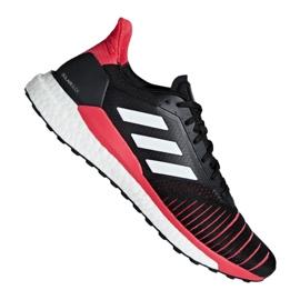 Schwarz Adidas Solar Glide M D97437 Schuhe