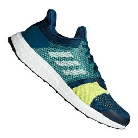 Blau Adidas UltraBoost St M B37695 Schuhe