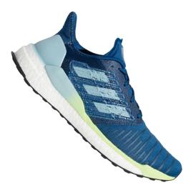 Blau Adidas Solar Boost M B96286 Schuhe