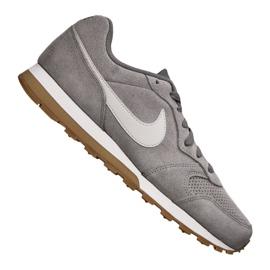 Grau Nike Md Runner 2 Suede M AQ9211-002 Schuhe