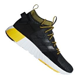 Schwarz Adidas Questarstrike Mid M G25773 Schuhe