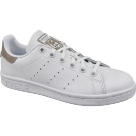 Weiß Adidas Stan Smith Jr DB1200 Schuhe
