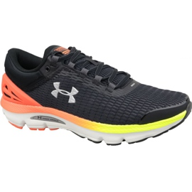 Schwarz Under Armour Charged Intake 3 M 3021229-001 Laufschuhe