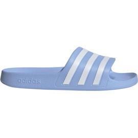 Blau Adidas Adilette Aqua W EE7346 Hausschuhe