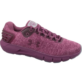 Rot Under Armour Charged Rogue Twist W 3022686-500 Laufschuhe