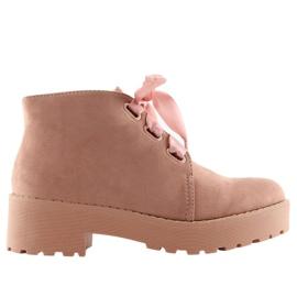 Stiefel für Frauen pink LL219 Pink