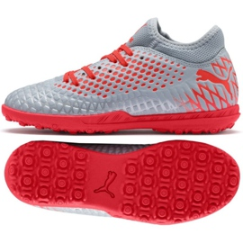 Puma Futrure 4.4 Tt Jr 105699 01 Schuhe grau grau / silber